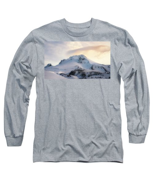 Long Sleeve T-Shirt featuring the photograph Majestic Mt. Hood by Ryan Manuel