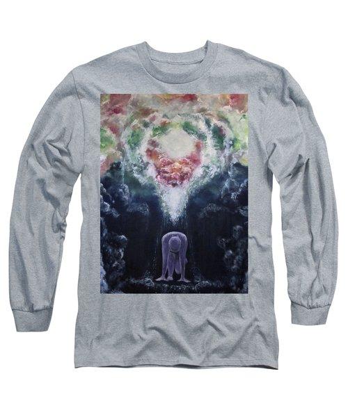 Making Angels Long Sleeve T-Shirt by Cheryl Pettigrew