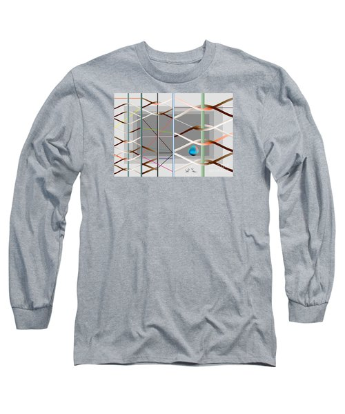 Long Sleeve T-Shirt featuring the digital art Male And Female Logic by Leo Symon