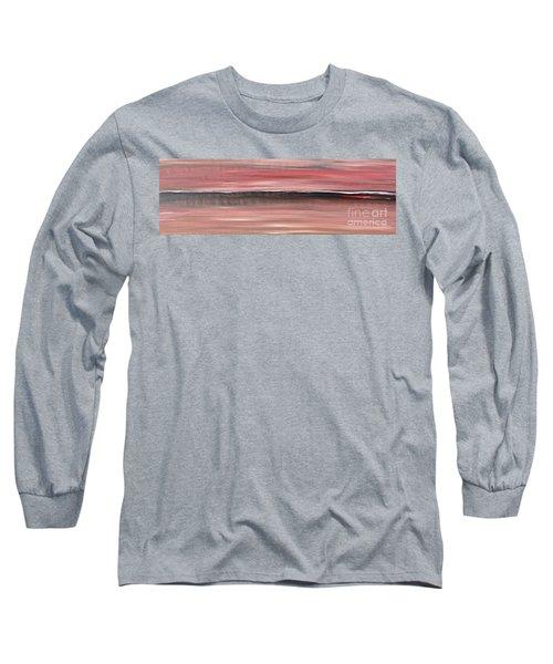 Malibu #34 Seascape Landscape Original Fine Art Acrylic On Canvas Long Sleeve T-Shirt