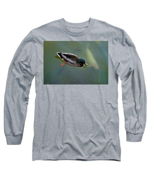Mallard And Carp Long Sleeve T-Shirt