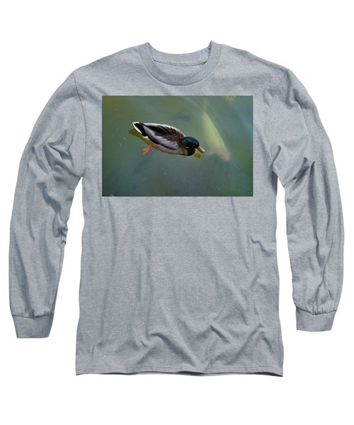 Mallard And Carp Long Sleeve T-Shirt