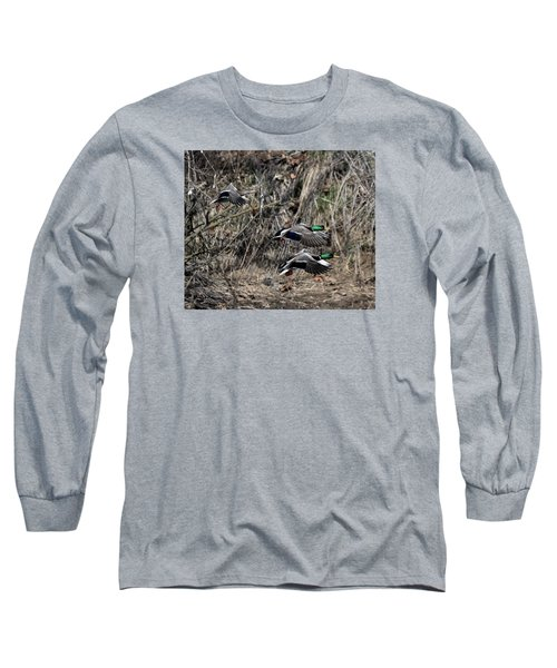 Mallard Ducks 1 Long Sleeve T-Shirt