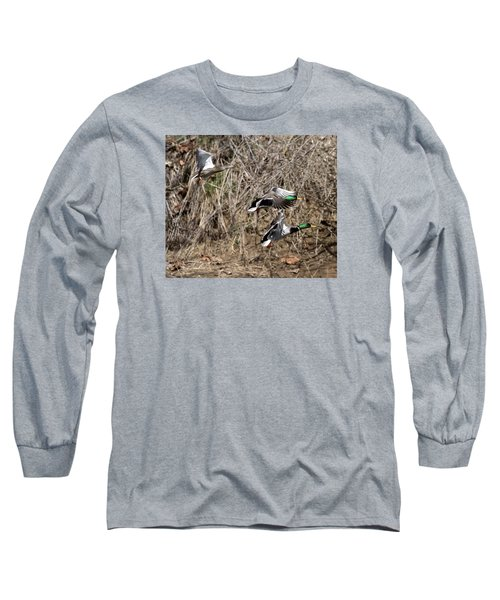 Mallard Ducks 2 Long Sleeve T-Shirt