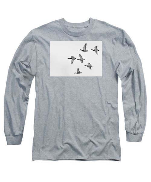 Mallards Long Sleeve T-Shirt by Dan Traun