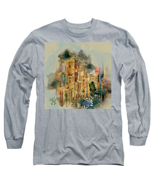 Maltese Street Long Sleeve T-Shirt