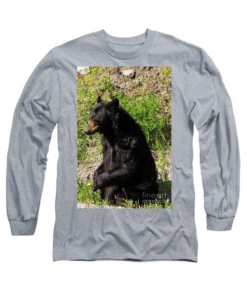 Mama Black Bear Long Sleeve T-Shirt