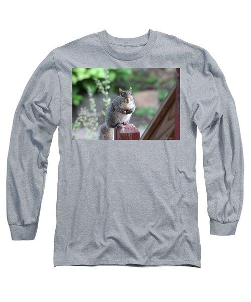 Mama Squirrel Long Sleeve T-Shirt
