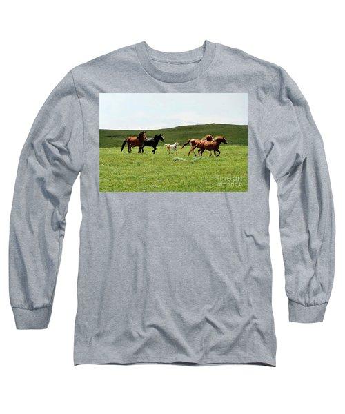 Mama's Little Foal Long Sleeve T-Shirt