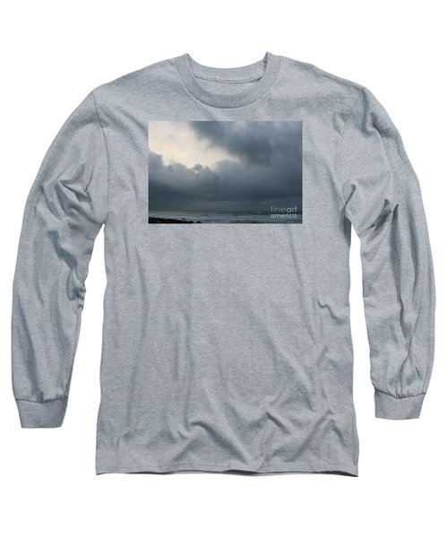 Long Sleeve T-Shirt featuring the photograph Man And Nature by Jeanette French