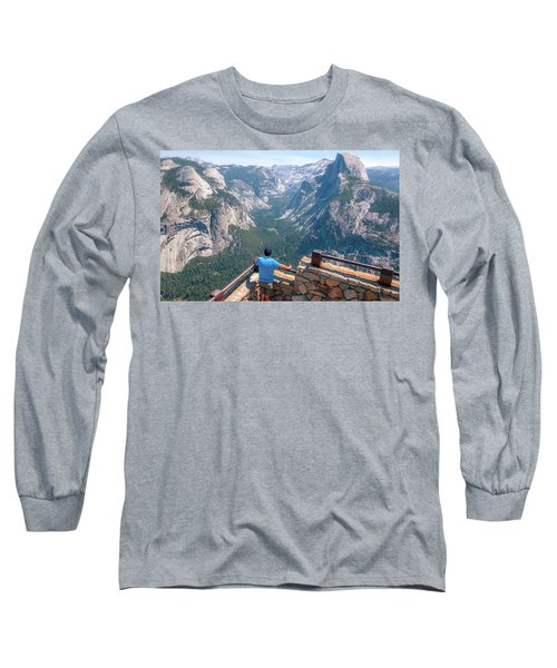 Man In Awe- Long Sleeve T-Shirt