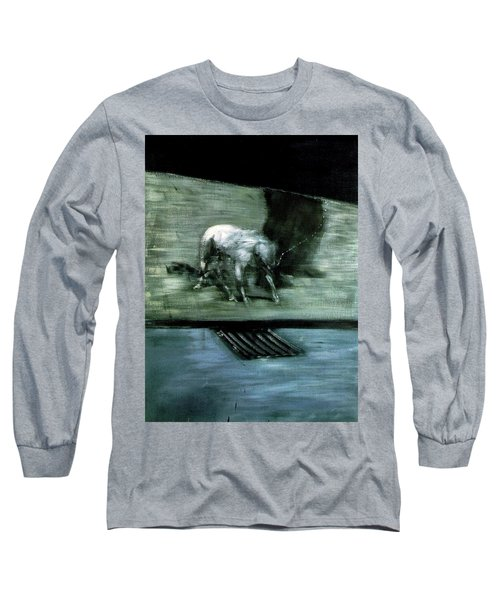 Man With Dog  Long Sleeve T-Shirt