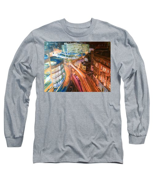 Manchester High Street Long Sleeve T-Shirt