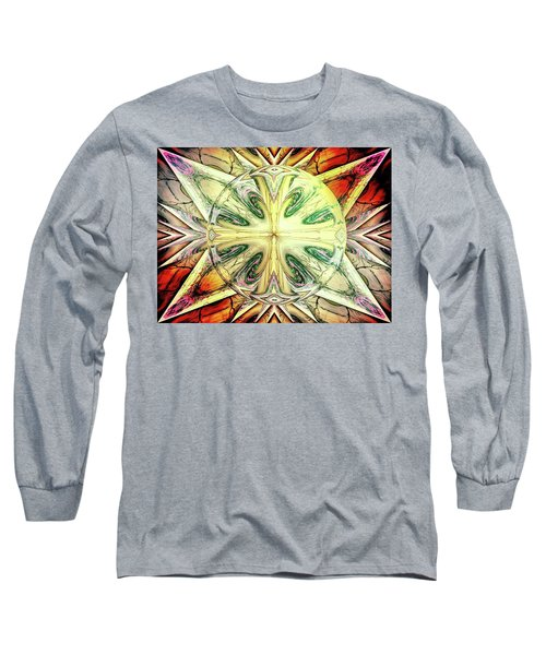 Mandala Long Sleeve T-Shirt by Beto Machado