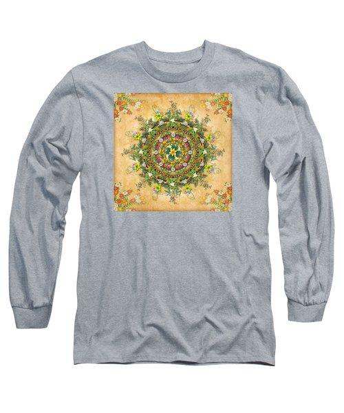 Mandala Flora Long Sleeve T-Shirt