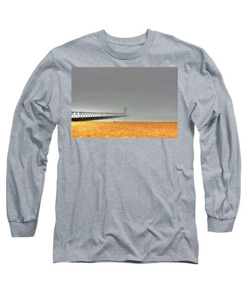 Manistee Light And Fog Long Sleeve T-Shirt