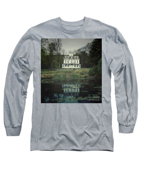 Mansion Reflected At Waterloo Long Sleeve T-Shirt