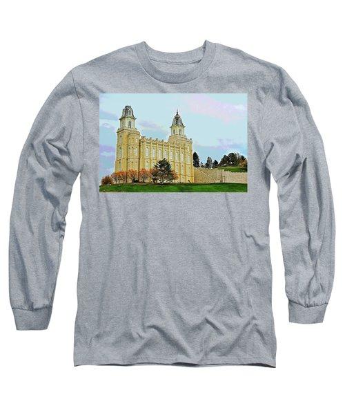 Manti Temple Long Sleeve T-Shirt