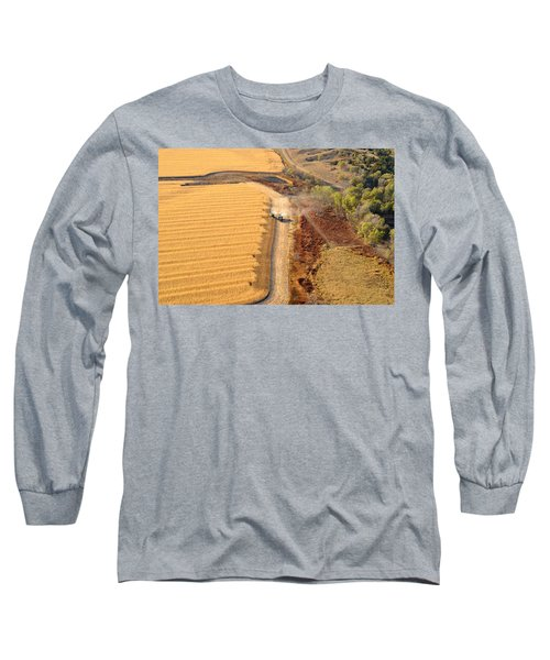 Many Acres To Harvest Long Sleeve T-Shirt