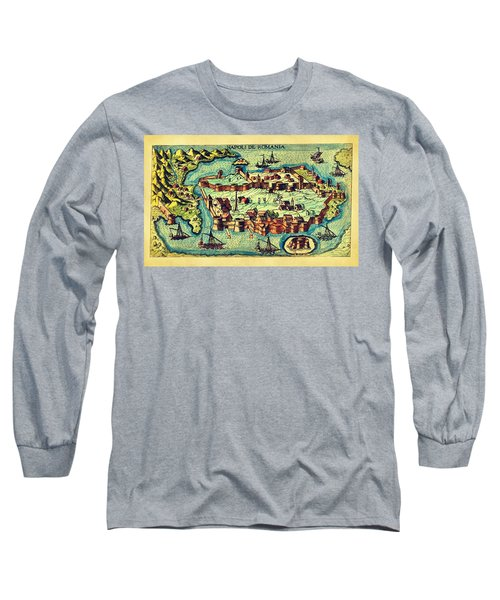 Map Seaport Long Sleeve T-Shirt
