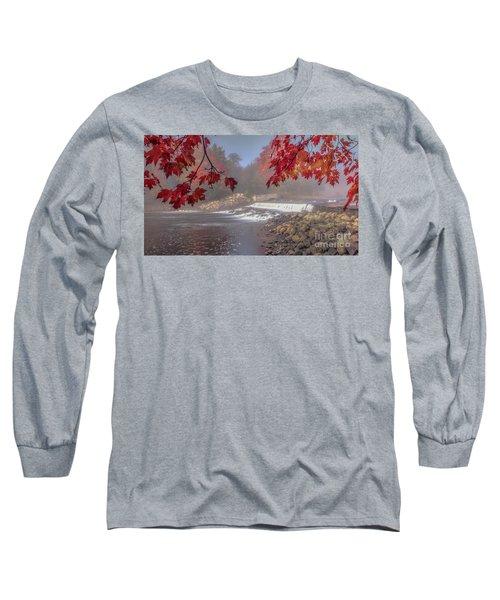 Maple Leaf Frame Ws Long Sleeve T-Shirt