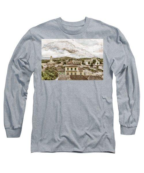 Mapping Trinidad Long Sleeve T-Shirt