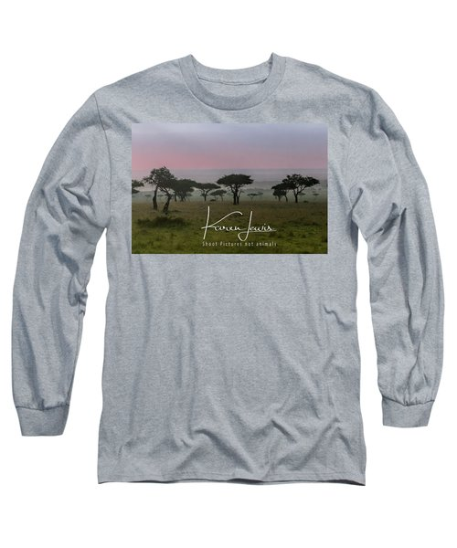 Long Sleeve T-Shirt featuring the photograph Mara Dawn by Karen Lewis