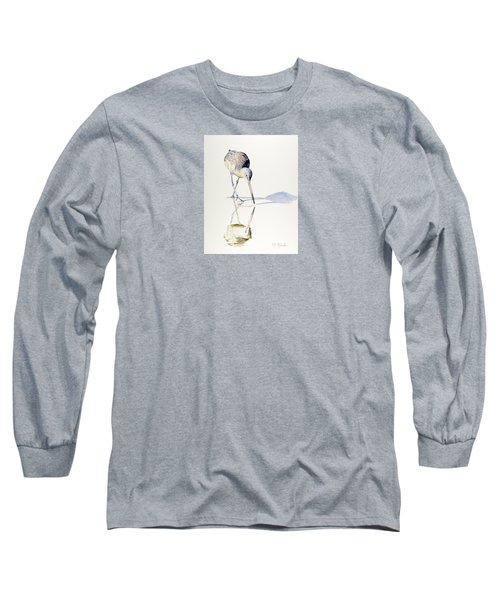 Marbled Godwit Times Three Long Sleeve T-Shirt