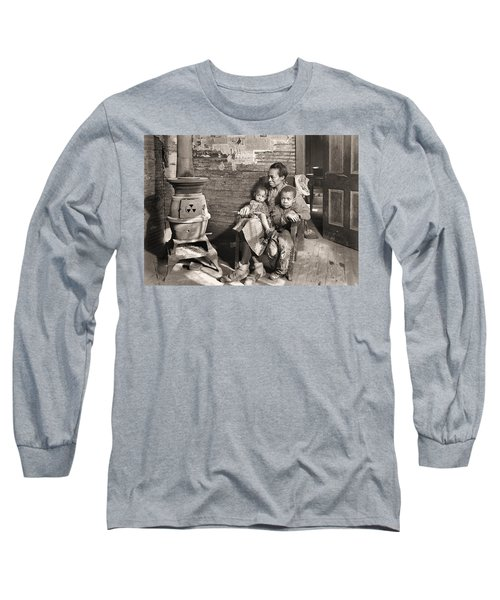March 1937 Scott's Run, West Virginia Johnson Family. Long Sleeve T-Shirt