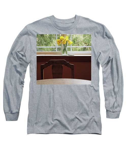 Long Sleeve T-Shirt featuring the photograph March by Laurie Stewart