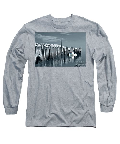 Margaretsville Wharf  Long Sleeve T-Shirt