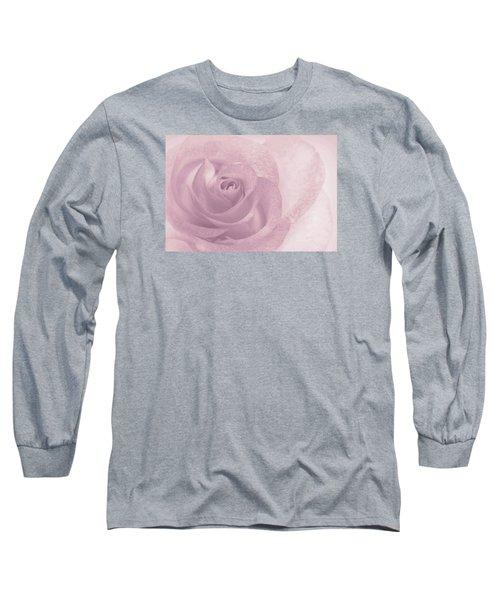 Marilyn's Dream Rose Long Sleeve T-Shirt by The Art Of Marilyn Ridoutt-Greene
