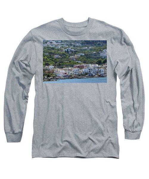 Marina Grande, Isle Of Capri Long Sleeve T-Shirt