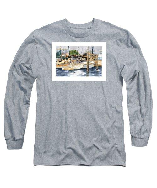 Marina Matrix Long Sleeve T-Shirt