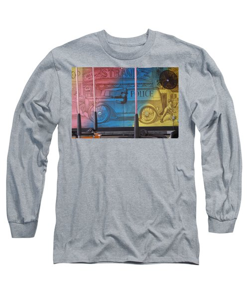 Long Sleeve T-Shirt featuring the photograph Mariner's Landing by Greg Graham