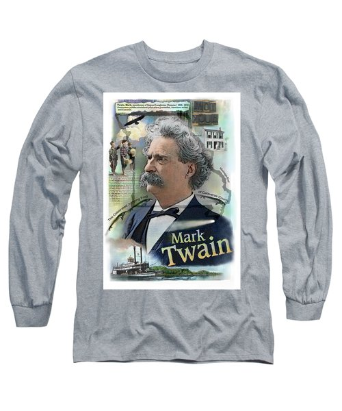 Mark Twain Long Sleeve T-Shirt