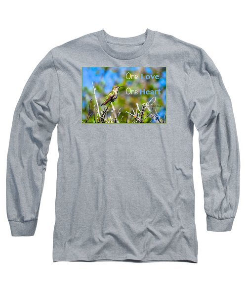 Long Sleeve T-Shirt featuring the photograph Marley Love  by David Norman