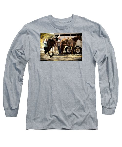 Marriage And The Deer Hunters Long Sleeve T-Shirt