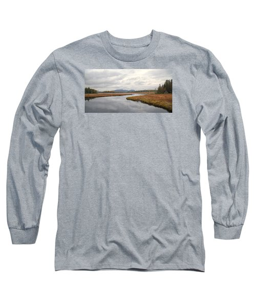 Marshall Brook No. 2 - Acadia - Maine Long Sleeve T-Shirt
