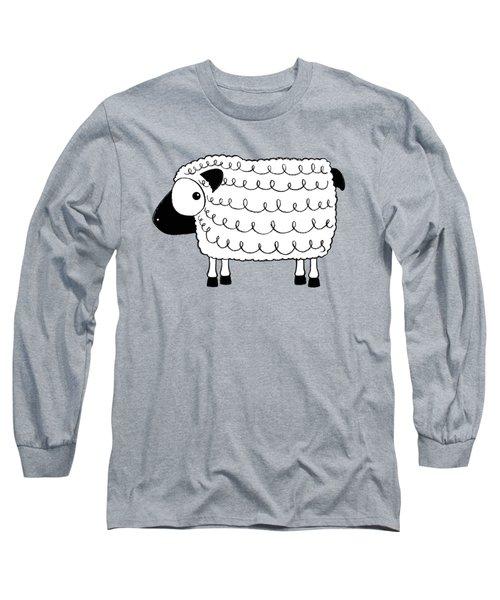 Marshmallow The Sheep Long Sleeve T-Shirt