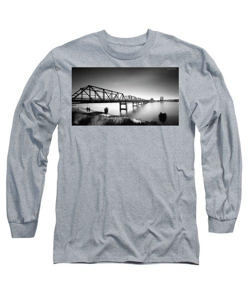 Martin Bridge 6666 Long Sleeve T-Shirt by Kevin Chippindall