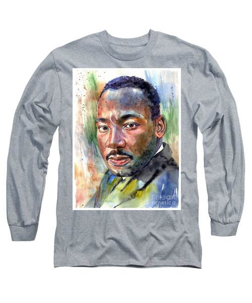 Martin Luther King Jr. Painting Long Sleeve T-Shirt