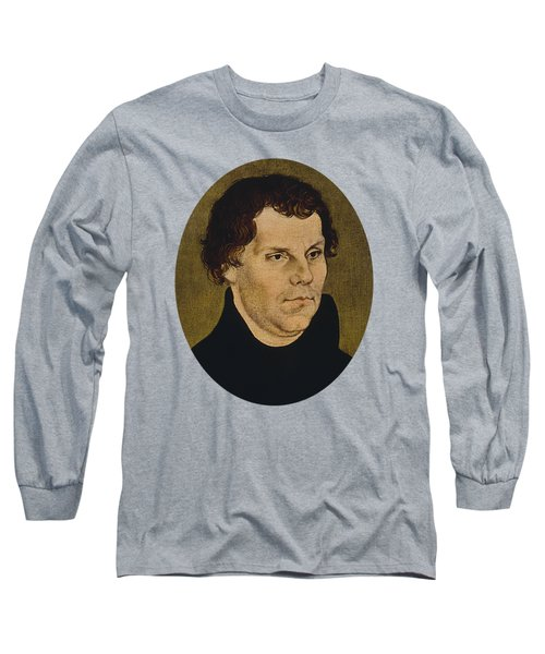 Martin Luther Painting  Long Sleeve T-Shirt