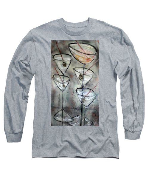 Martini Time Long Sleeve T-Shirt