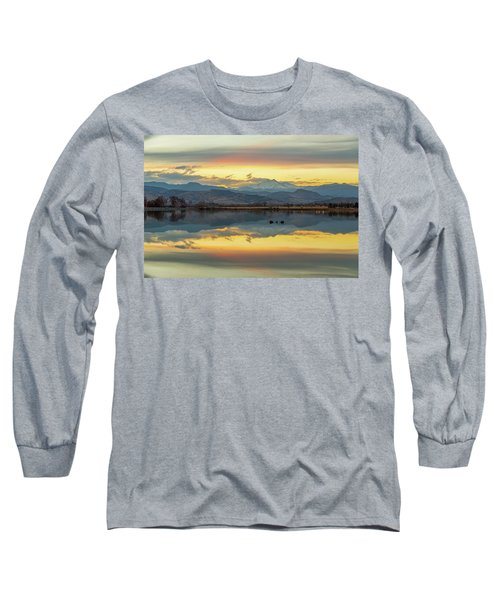 Long Sleeve T-Shirt featuring the photograph Marvelous Mccall Lake Reflections by James BO Insogna