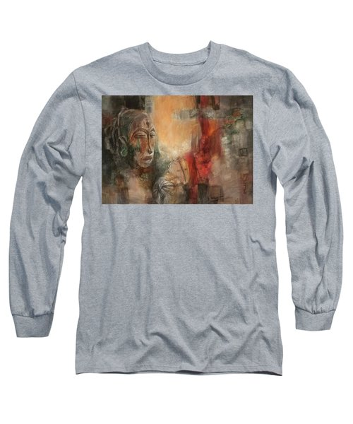 Symbol Mask Painting - 08 Long Sleeve T-Shirt