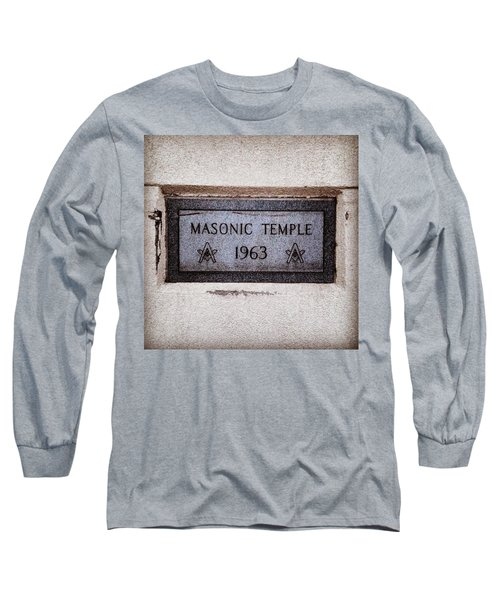 Masonic Temple Long Sleeve T-Shirt