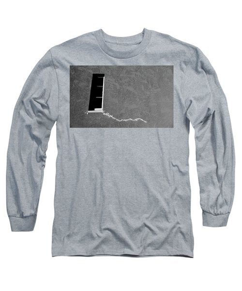 Long Sleeve T-Shirt featuring the photograph Masonic Window by CML Brown