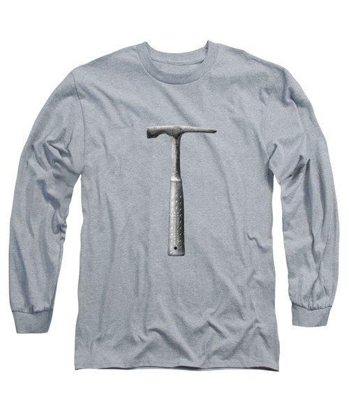 Masonry Hammer On Plywood 63 In Bw Long Sleeve T-Shirt