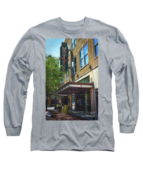 Long Sleeve T-Shirt featuring the photograph Mast General by Skip Willits
